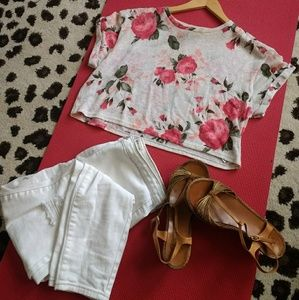 One Clothing crop top